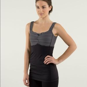 Lululemon Women's Aria Tank II Parallel Striped
